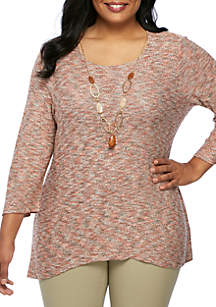 Plus Size Stained Glass Tunic