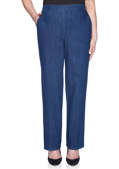 Alfred Dunner Panama City Proportioned Medium Pants