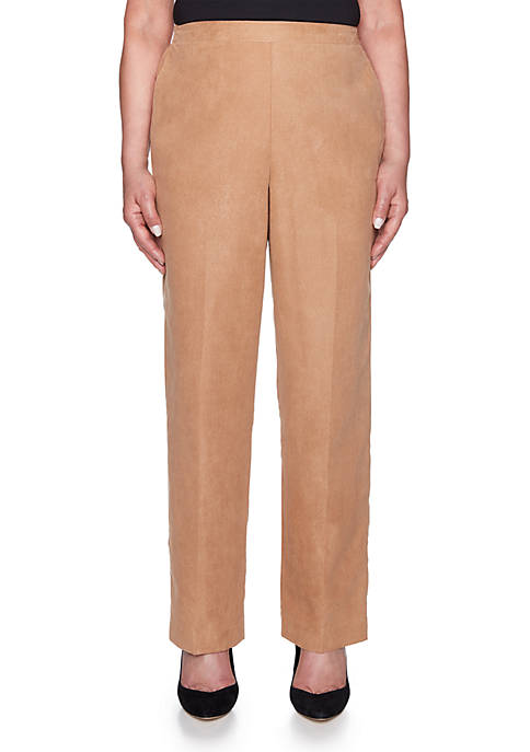 Alfred Dunner News Flash Proportioned Medium Pant
