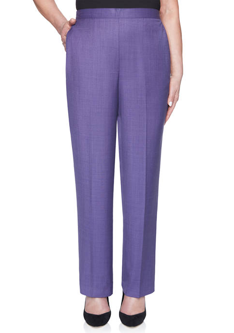 Alfred Dunner Womens Wisteria Lane Proportioned Short Pants