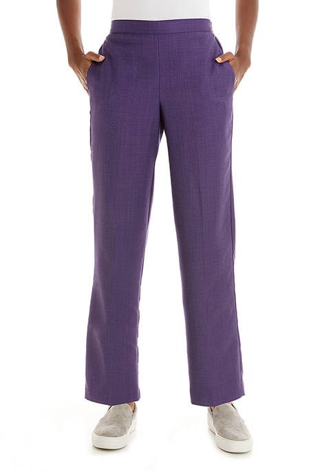 Alfred Dunner Petite Wisteria Lane Proportioned Short Pants