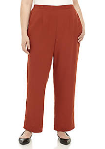 Plus Size Autumn in New York Proportioned Medium Pants