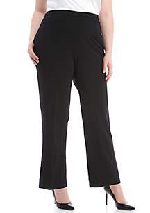 Plus Size Regular Fit Proportioned Pants
