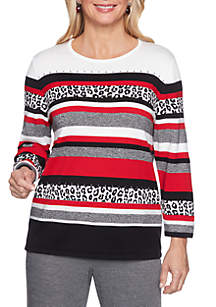 Petite Sutton Place Biadere Sweater