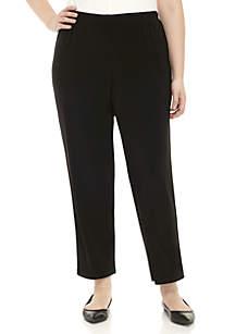 Plus Size Shining Movements Proportioned Medium Pants