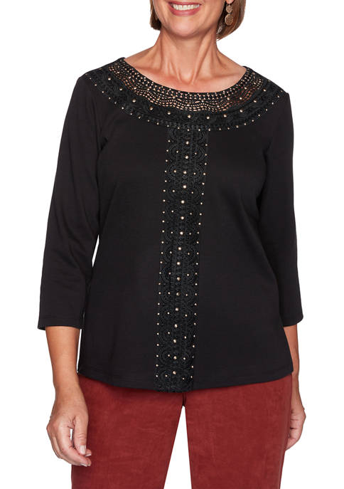 Plus Size Catwalk Knit Top