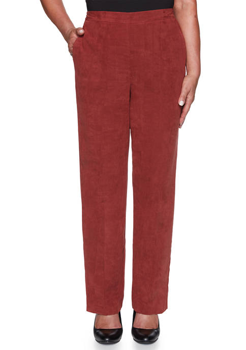 Alfred Dunner Plus Size Catwalk Twill Pants