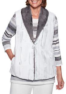 Stocking Stuffers Reversible Fur Vest