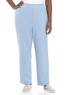 4558f84e385 ... Alfred Dunner Plus Size At Ease Proportioned Short Pants