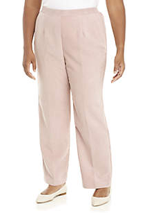 86713009bb2 ... Alfred Dunner Plus Size Home For The Holidays Corduroy Short Pants