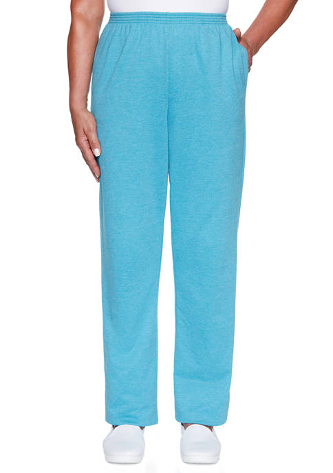 Alfred Dunner Plus Size Long Weekend French Terry