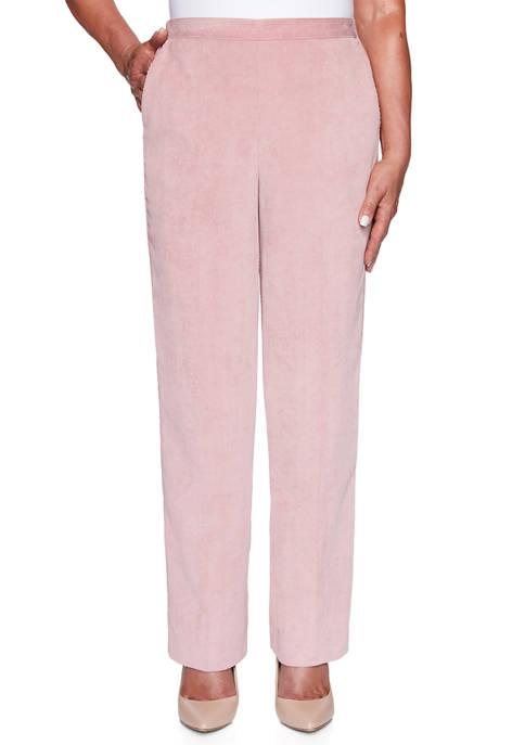 Womens St. Moritz Wale Corduroy Pants- Medium Length