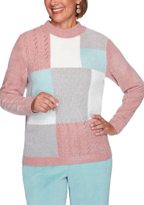 Petite St Moritz Chenille Sweater