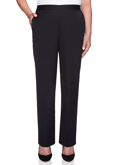 Alfred Dunner Finishing Touch Proportioned Medium Pants