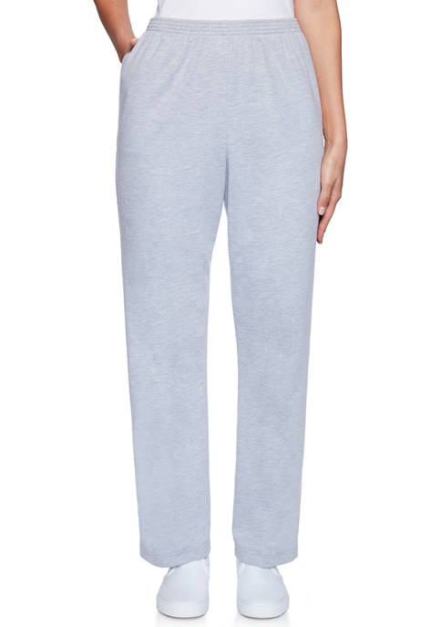 Alfred Dunner Plus Size Relaxed Attitude French Terry