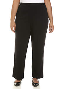 Alfred Dunner Plus Size Proportioned Short Pants