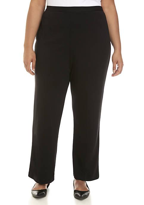 Plus Size Short Denim Pants