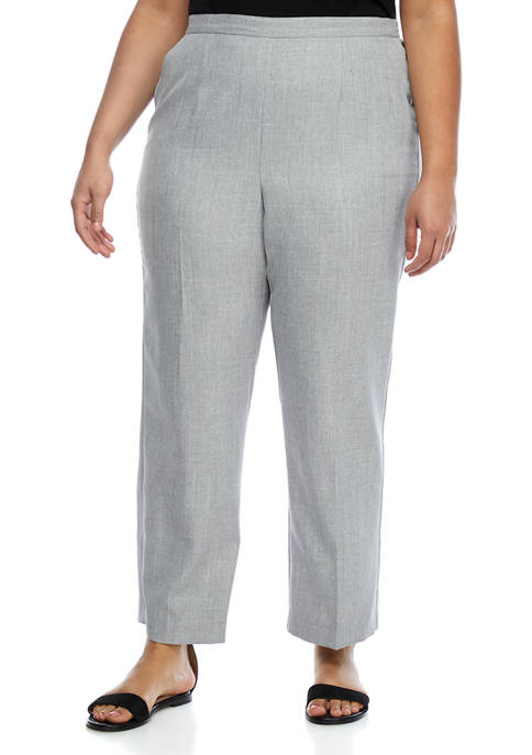 Alfred Dunner Plus Size Medium Proportioned Pants