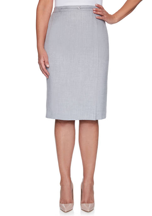Petite French Bistro Skirt