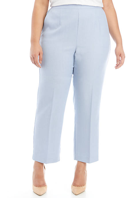 Alfred Dunner Plus Size South Hampton Short Proportioned