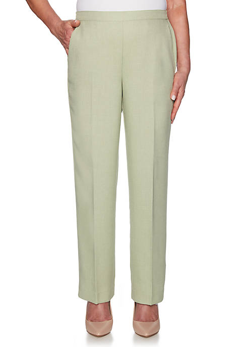 Alfred Dunner Petite South Hampton Proportion Medium Pants