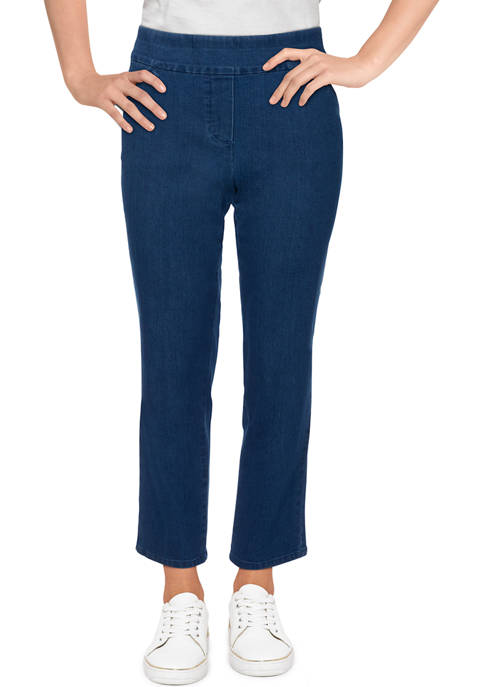 Alfred Dunner Womens Bryce Canyon Superstretch Denim Short