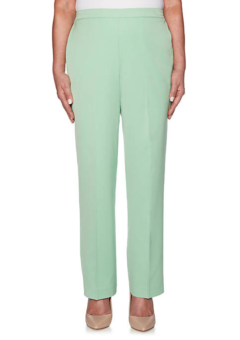 Alfred Dunner Petite Cote DAzure Proportion Medium Pants