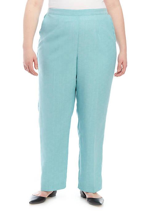 Plus Size Versailles Short Proportioned Pants