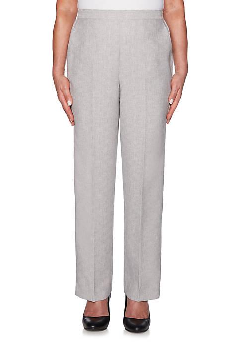 Alfred Dunner Petite Versailles Classic Fit Short Pants