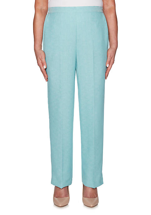 Alfred Dunner Petite Versailles Proportioned Pants
