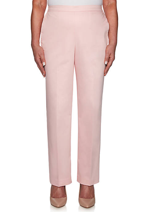 Alfred Dunner Petite Society Page Proportion Medium Pants