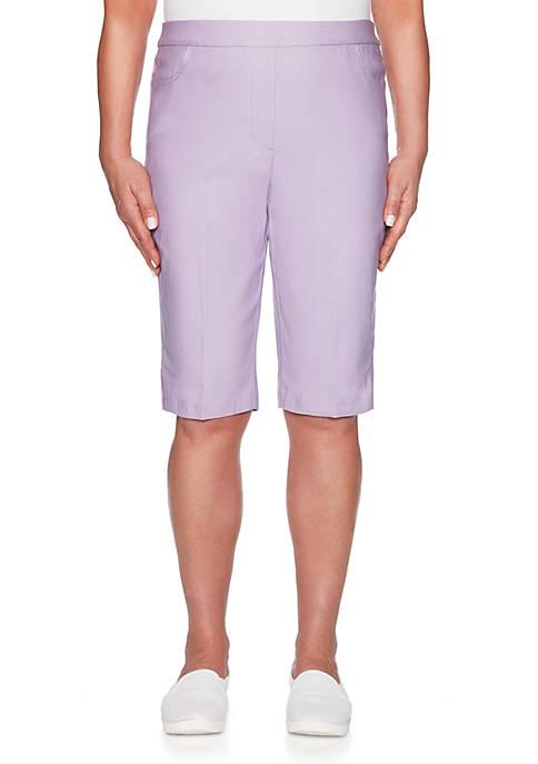 Alfred Dunner Petite Allure Bermuda Shorts