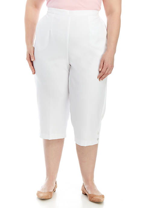 Plus Size Martinique Capris