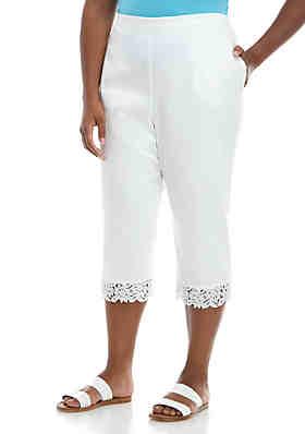 Plus Size Capris & Capri Pants for Women | belk
