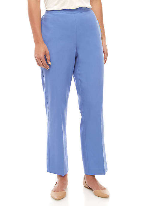 Petite Twill Pants - Medium