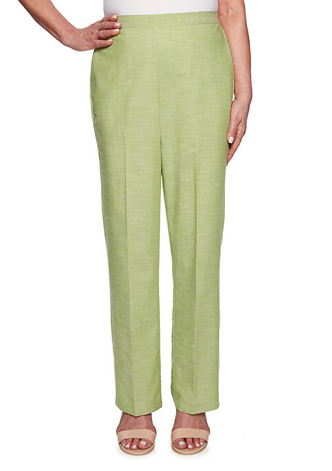 Alfred Dunner Petite Santa Fe Proportioned Medium Pants