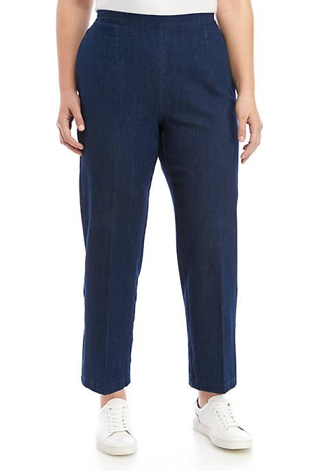 Plus Size Proportion Pants - Short