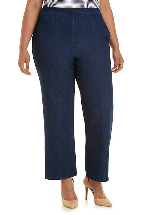 Alfred Dunner Plus Size Lake Tahoe Proportioned Medium