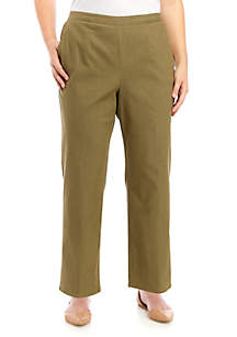 Alfred Dunner Plus Size Proportioned Pants - Short
