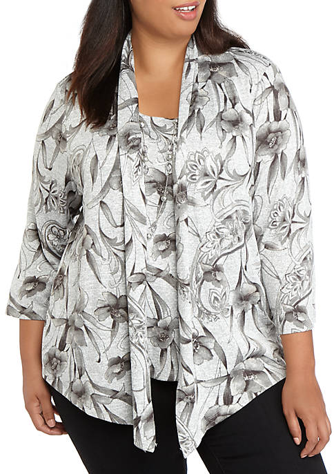 Alfred Dunner Plus Size Boardroom 2 For 1