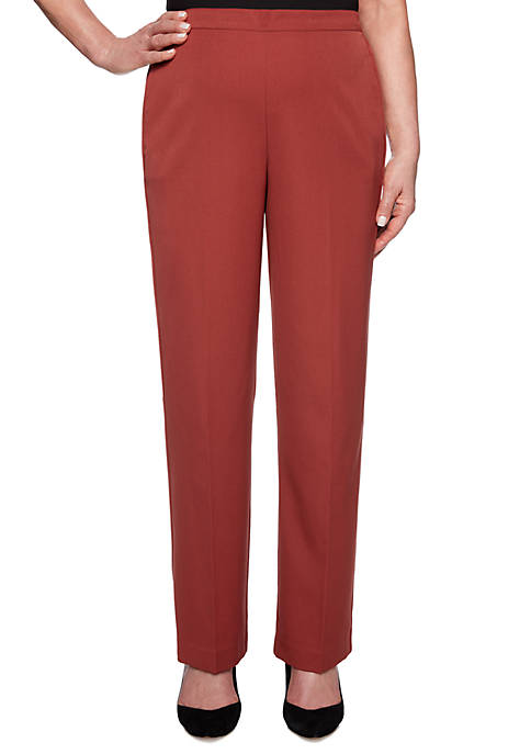 Alfred Dunner Cedar Canyon Pull On Pants
