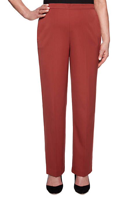 Alfred Dunner Petite Cedar Canyon Pull On Pants