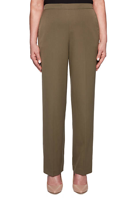 Alfred Dunner Petite Cedar Canyon Proportioned Pants
