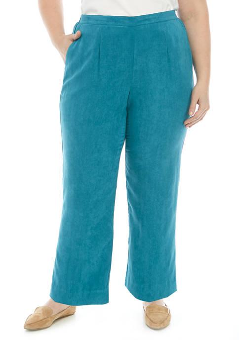 Alfred Dunner Plus Size Prop Short Pants