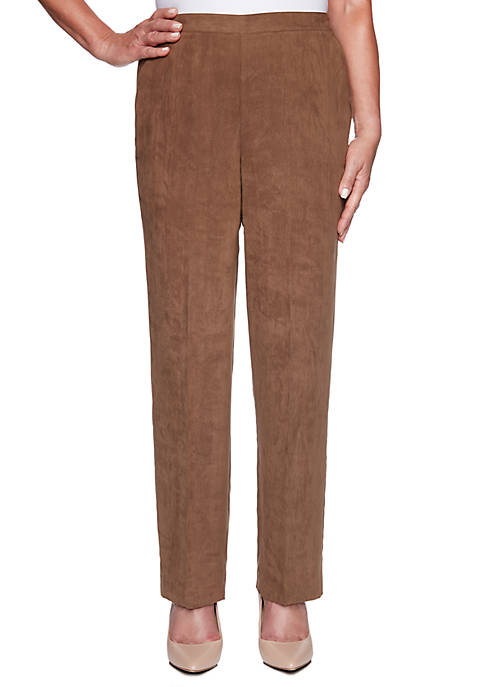 Alfred Dunner Petite Walnut Grove Proportioned Medium Pants