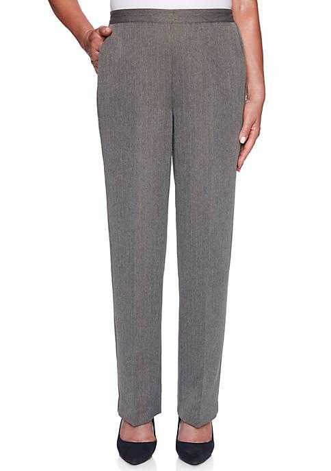 Womens Sapphire Skies Medium Pinstripe Pants