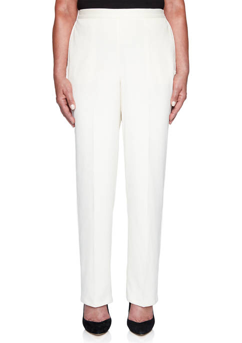 Alfred Dunner Petite First Frost Proportioned Corduroy Pants-