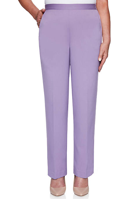 Alfred Dunner Petite Loire Valley Proportioned Medium Twill