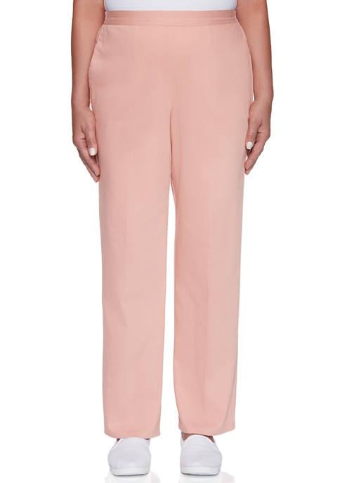 Petite Pearls of Wisdom Proportioned Medium Pants