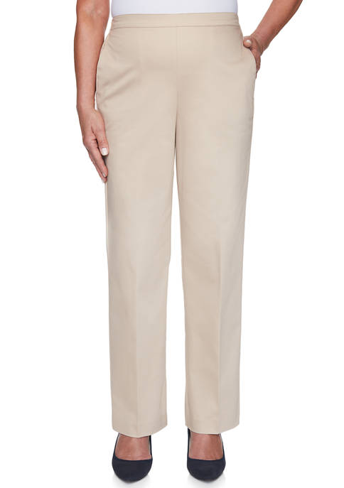 Alfred Dunner Womens Cottage Charm Proportioned Short Pants